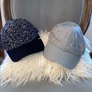 Classy baseball caps by Express